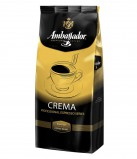 Кофе в зернах Ambassador Crema (Амбассадор Крема) 1 кг, вакуумная упаковка