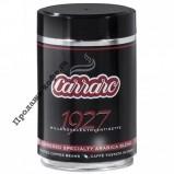 Кофе в зернах Carraro Lattina 1927, 250 г, железная банка