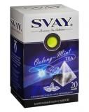 Чай Svay Oolong-Mint зеленый Бирюзовый улун с мятой (20 пирамидок по 2гр.)